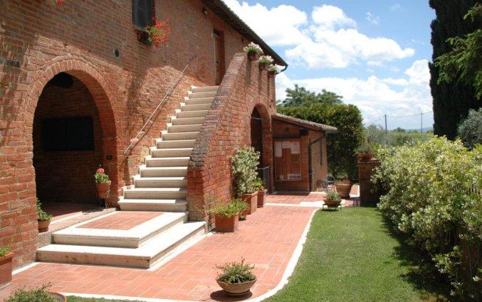 Zijaanzicht van appartement La Casa Delle Querce