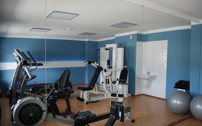 Sportzaal van hotel Bellevue Park Riga