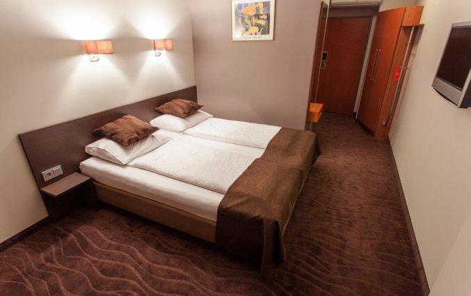 Tweepersoonskamer van hotel Bellevue Park Riga