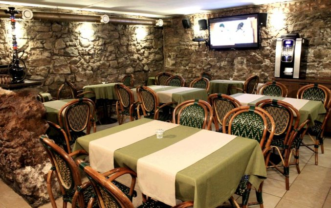 Restaurant van Hotel Monte Kristo in Riga
