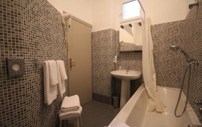 Badkamer van Hotel Green Class Astoria in Turijn