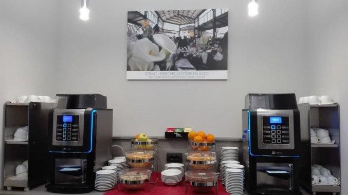Ontbijt van Hotel Green Class Astoria in Turijn