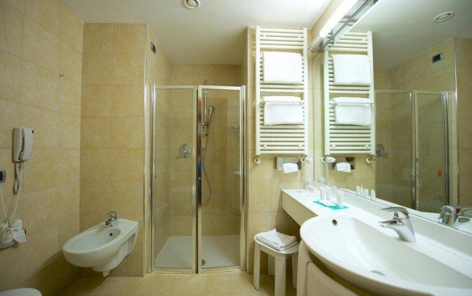 Badkamer van hotel Best Western Crystal Palace