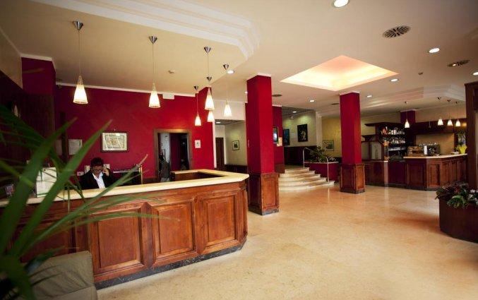 Receptie van hotel Miramonti in Turijn