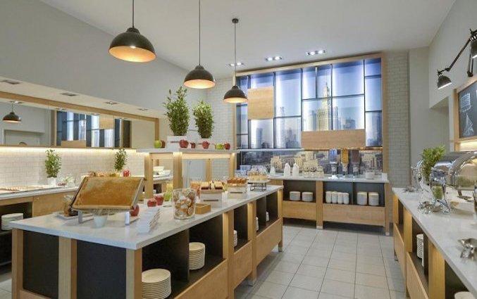Ontbijt van Hotel Metropol in Warschau