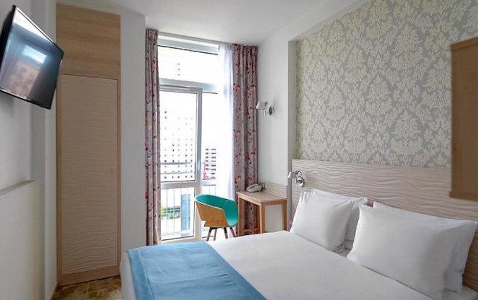 Tweepersoonskamer van Hotel Metropol in Warschau