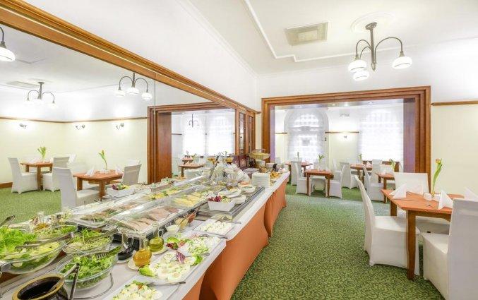 Ontbijtbuffet van Hotel Hetman in Warschau
