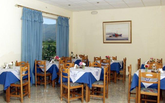 Ontbijtruimte van Hotel Plessas Palace op Zakynthos