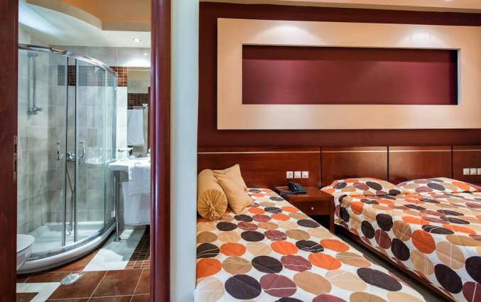 Tweepersoonskamer van Hotel Canadian op Zakynthos
