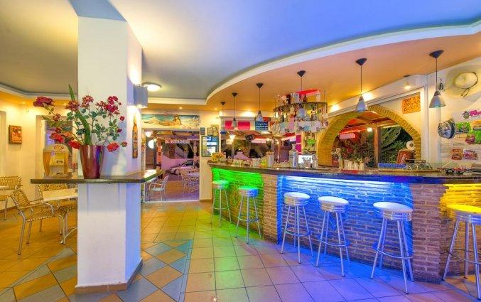 Bar van Hotel Canadian op Zakynthos