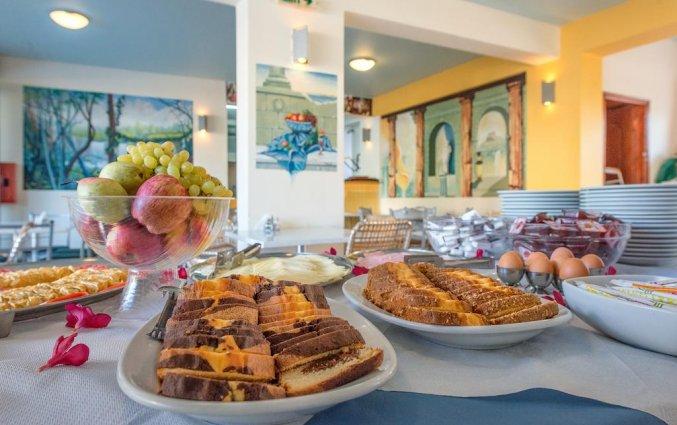 Ontbijt van Hotel Canadian op Zakynthos