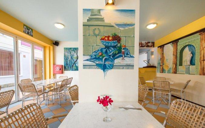 Restaurant van Hotel Canadian op Zakynthos