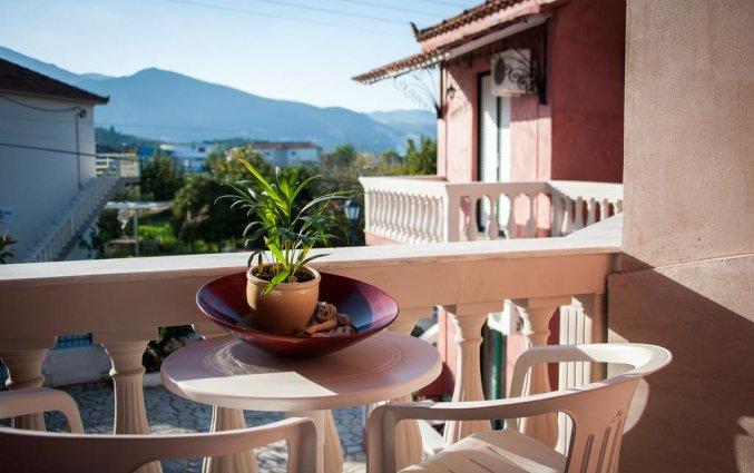 Balkon van studio in Hotel Zante Nest op Zakynthos