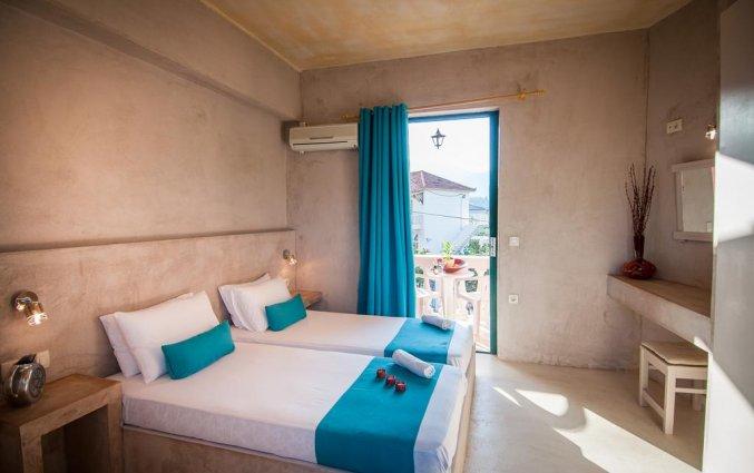 Studio met twee losse bedden in Hotel Zante Nest op Zakynthos