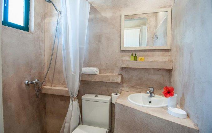 Badkamer van studio in Hotel Zante Nest op Zakynthos