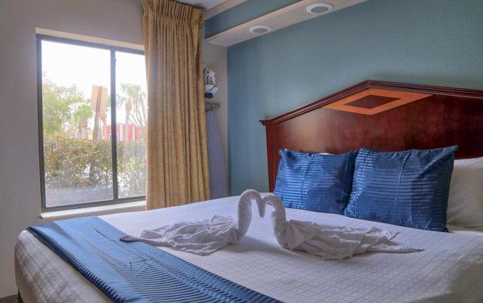 Tweepersoonskamer van Destiny Palms hotel