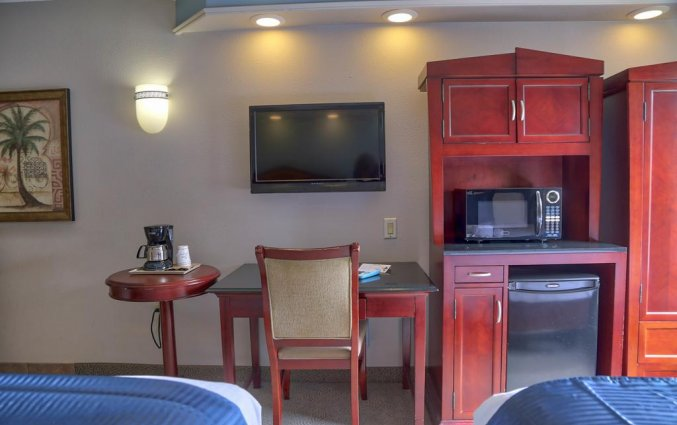 Vierpersoonskamer van Destiny Palms hotel