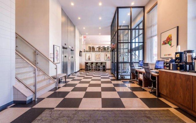 Lobby van Hotel Best Western Plaza in New York