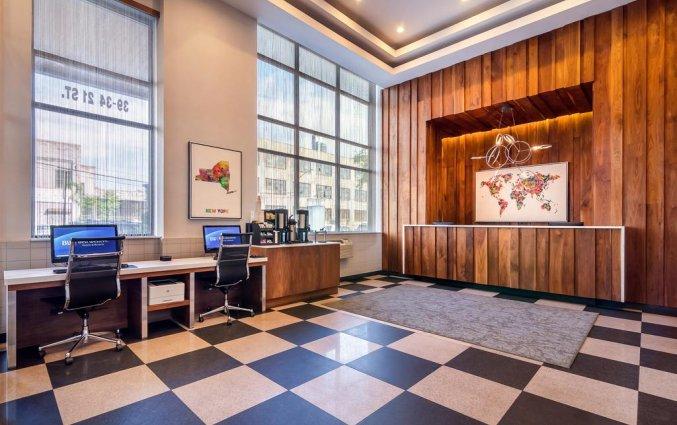 Receptie van Hotel Best Western Plaza in New York