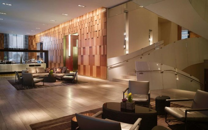 Lobby van Hotel Andaz Wall Street in New York