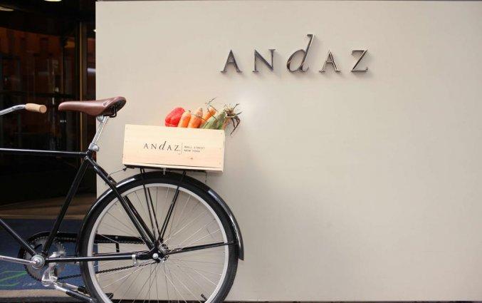 Gebouw van Hotel Andaz Wall Street in New York