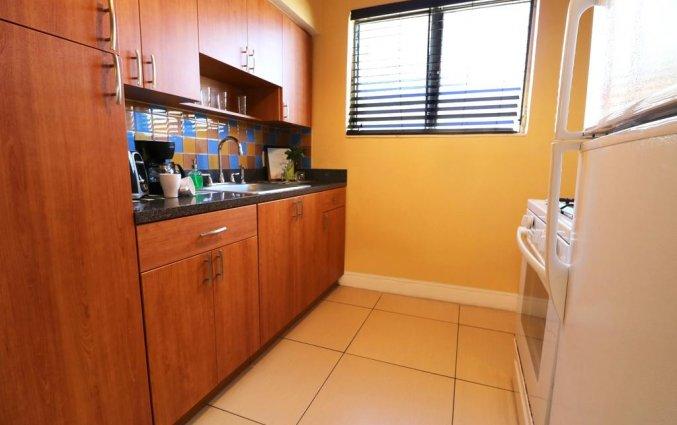 Keuken van appartement Beachside