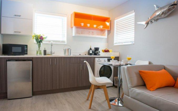 Keuken van appartement Seaside