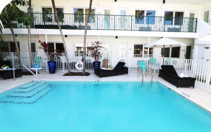 Zwembad van appartement Seaside