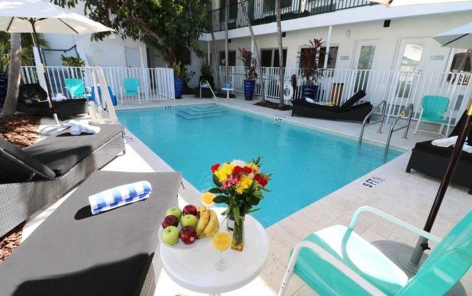 Zwembad van het appartement Seaside