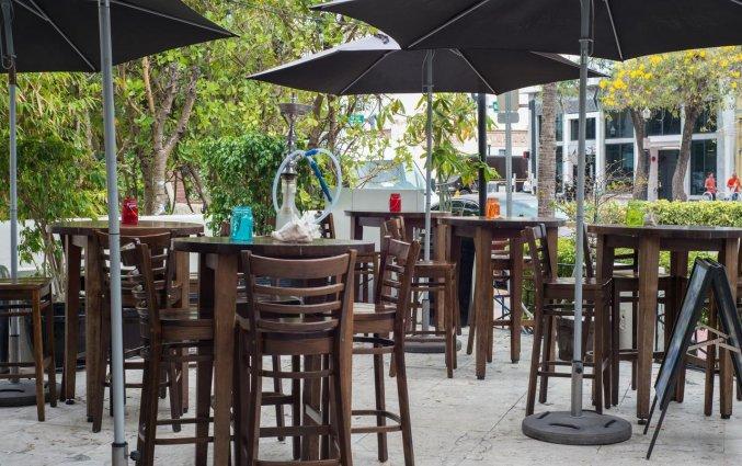 Terras van Hotel Chelsea in Miami