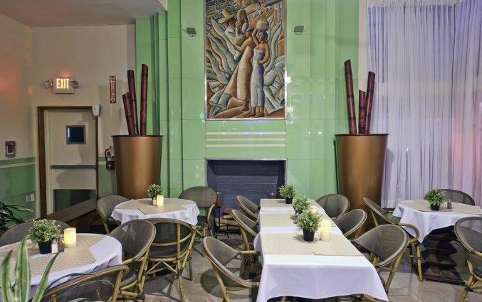 Restaurant van Hotel Colony Ocean Drive in Miami