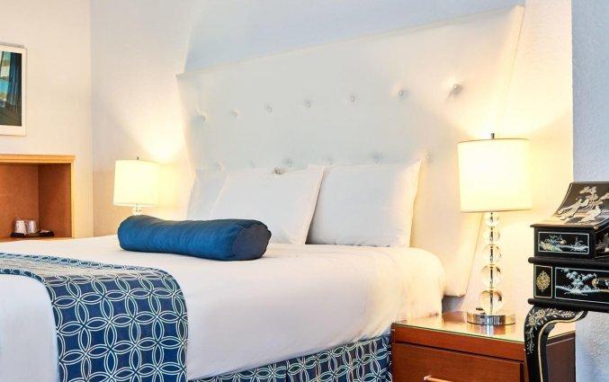 Tweepersoonskamer van hotel Ocean Spray