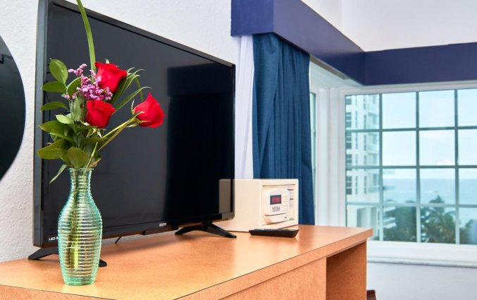 Televisie van hotel Ocean Spray