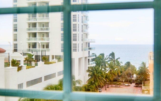 Uitzicht van hotel Ocean Spray