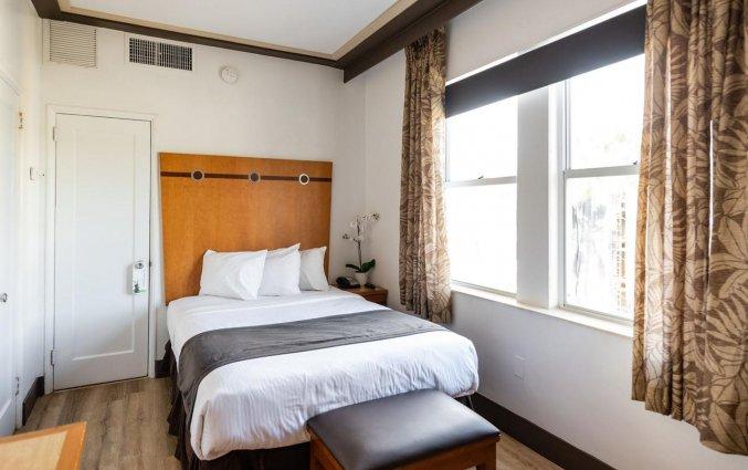 Tweepersoonskamer van hotel Majestic South Beach