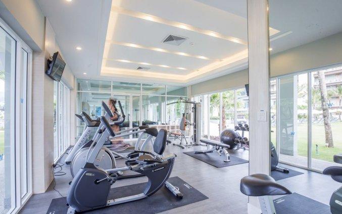 Sportzaal van Resort The Waters Khao Lak