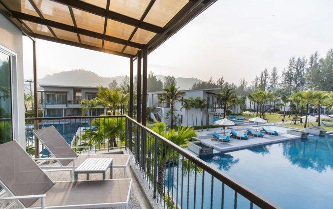 Uitzicht van Resort The Waters Khao Lak