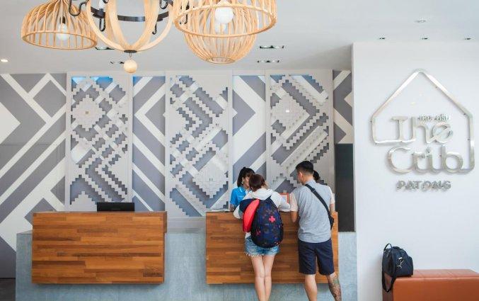 Receptie met mensen van hotel Crib Patong op Phuket