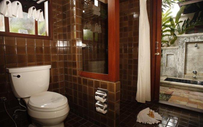 Badkamer van Resort Khaolak Bhandari