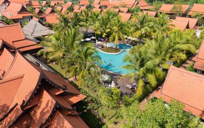 Bovenaanzicht van Resort Khaolak Bhandari