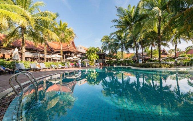 Zwembad van Resort Khaolak Bhandari