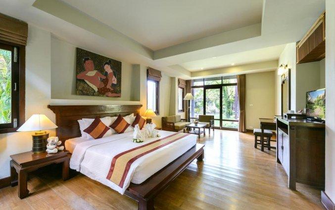 Tweepersoonskamer van Resort Khaolak Bhandari