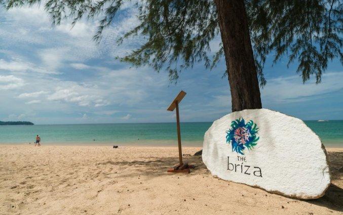 Naambord van Resort The Briza Beach Khao lak