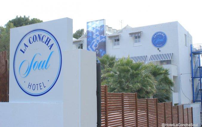 Gebouw van Hotel La Cocha Soul op Mallorca