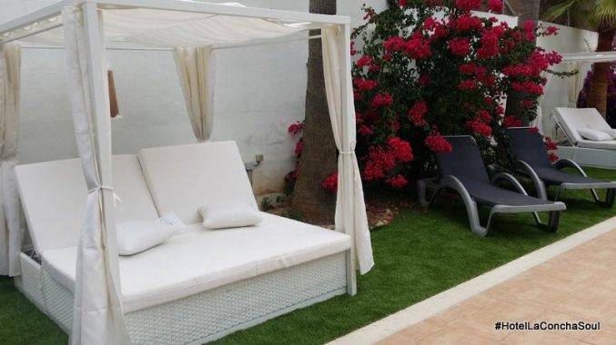 Zonneterras van Hotel La Cocha Soul op Mallorca