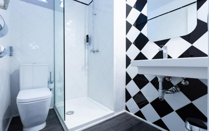 Badkamer van een tweepersoonskamer van Hotel La Cocha Soul op Mallorca