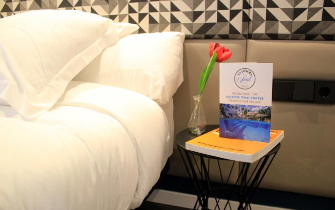 Tweepersoonskamer van Hotel La Cocha Soul op Mallorca