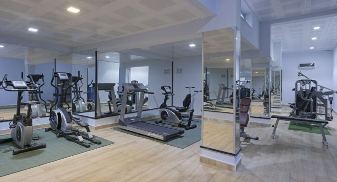 Hotel Grand Kaptan-Fitnessruimte