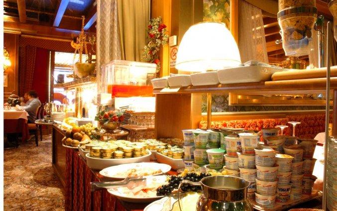 Ontbijtbuffet van hotel Venezia