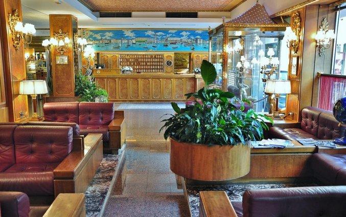 Lobby van hotel Venezia
